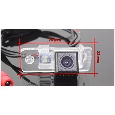 AUDI galinio vaizdo kamera numerio apšvietimas su atstumo rėmeliu 8
