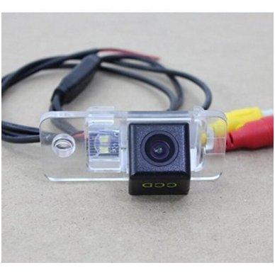 AUDI galinio vaizdo kamera numerio apšvietimas su atstumo rėmeliu 7