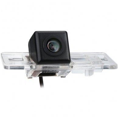 AUDI galinio vaizdo kamera numerio apšvietimas su atstumo rėmeliu