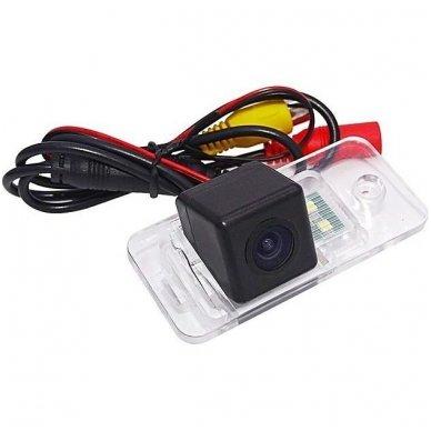AUDI galinio vaizdo kamera numerio apšvietimas su atstumo rėmeliu 5