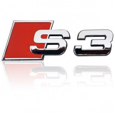 Audi S3 klijuojama emblema 2
