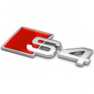 Audi S4 klijuojama emblema