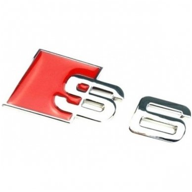 Audi S6 klijuojama emblema