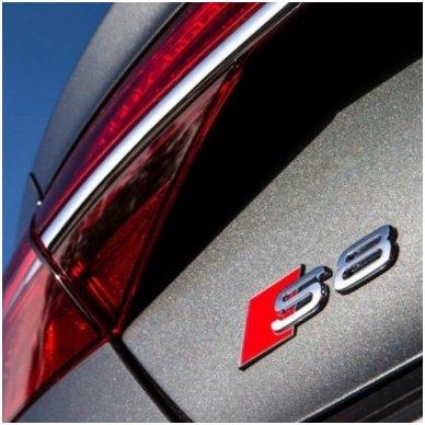 Audi S8 klijuojama emblema 2