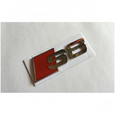 Audi S8 klijuojama emblema 3