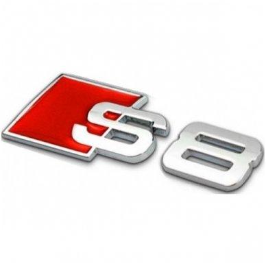 Audi S8 klijuojama emblema