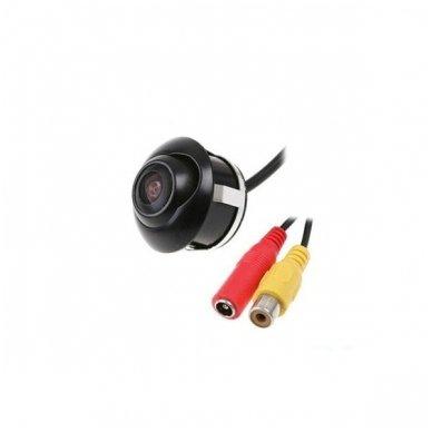 Automobilio galinio vaizdo kamera - įleidžiama reguliuojama su atstumo rėmeliu 11