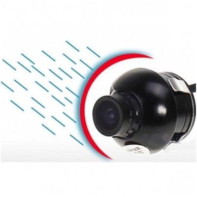Automobilio galinio vaizdo kamera - įleidžiama reguliuojama su atstumo rėmeliu 3