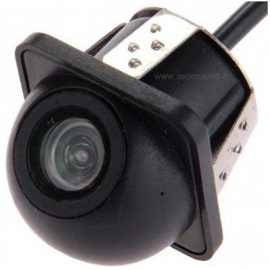 Automobilio galinio vaizdo kamera - įleidžiama su atstumo rėmeliu