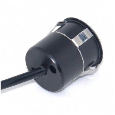 Automobilio galinio vaizdo kamera įleidžiama tiesi - su atstumo rėmeliu ir LED apšvietimu 4