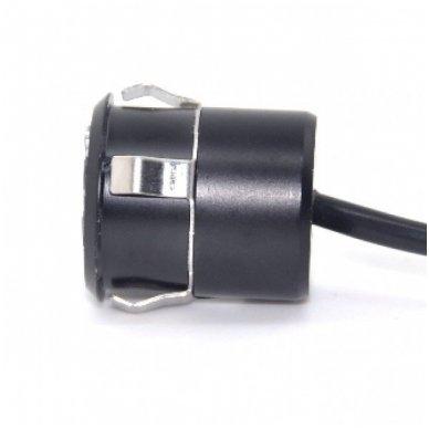 Automobilio galinio vaizdo kamera įleidžiama tiesi - su atstumo rėmeliu ir IR LED apšvietimu 10