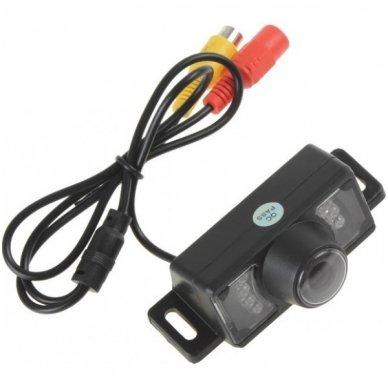 Automobilio IR LED galinio vaizdo kamera su naktiniu apšvietimu 3