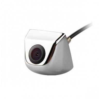 Automobilio priekio / galo vaizdo kamera įleidžiama - su atstumo rėmeliu chromuota 2