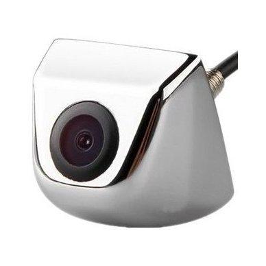 Automobilio priekio / galo vaizdo kamera įleidžiama - su atstumo rėmeliu chromuota
