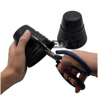 Automobilio žibinto guminis universalus apsauginis dangtelis 4