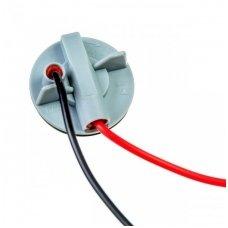 BA15S / P21W lemputės jungtis tvirtinimas į žibintą