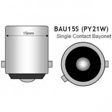 BAU15S / PY21W posūkio lemputės jungtis tvirtinimas į žibintą 3