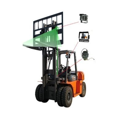 Belaidė 7 colių monitoriaus ir galinio vaizdo kameros sistema 12V/24V 10