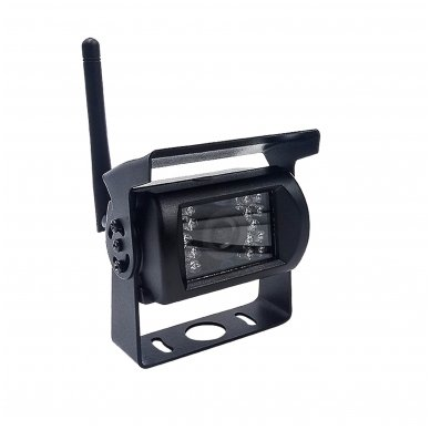 Belaidė 7 colių monitoriaus ir galinio vaizdo kameros sistema 12V/24V 5