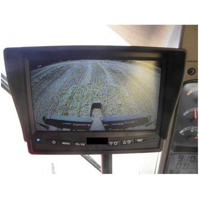 Belaidė 7 colių monitoriaus ir galinio vaizdo kameros sistema 12V/24V 9