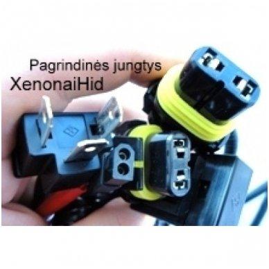 H4 Bi xenon elektromagnetinė valdymo ir srovės tiekimo rėlė 3