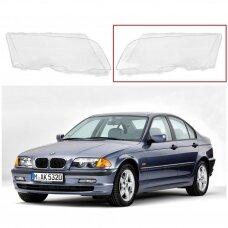 BMW 3 E46 (1998-2001) - Kairės pusės žibinto stiklas