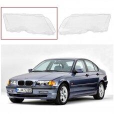 BMW 3 E46 (1998-2001) - Dešinės pusės žibinto stiklas