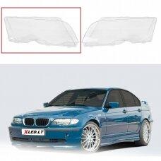 BMW 3 E46 (2001-2005) Facelift - Dešinės pusės žibinto stiklas