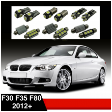 BMW 3 F30 F35 F80 LED salono apšvietimo lempučių komplektas