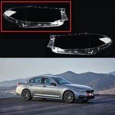 BMW 5 G30/G31 (2014-2019) - Dešinės pusės žibinto stiklas