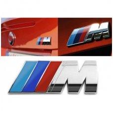 BMW M-tech bagažinės ženkliukas