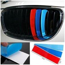 BMW M-Tech grotelių lipdukas ilgis 25cm, plotis 5cm