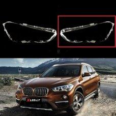 BMW X1 F48 (2016-2019) - Kairės pusės žibinto stiklas
