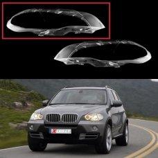 BMW X5 E70 (2007 - 2013) - Dešinės pusės žibinto stiklas