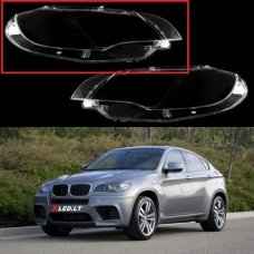 BMW X6 E71 / X5M (2007-2014) - Dešinės pusės žibinto stiklas