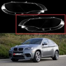 BMW X6 E71 / X5M (2007-2014) - Kairės pusės žibinto stiklas