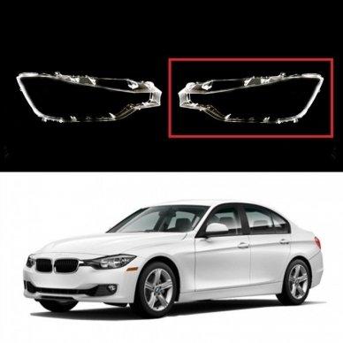 BMW 3 F30/F31 (2011-2015) - Kairės pusės žibinto stiklas