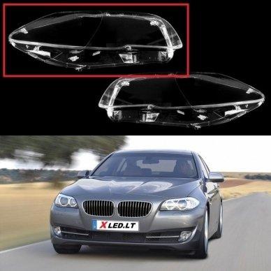 BMW 5 F10/F11 (2009-2016) - Dešinės pusės žibinto stiklas
