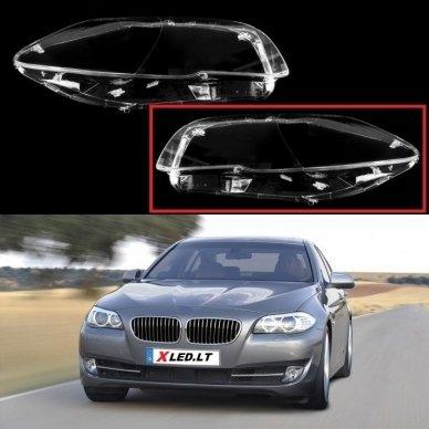 BMW 5 F10/F11 (2009-2016) - Kairės pusės žibinto stiklas
