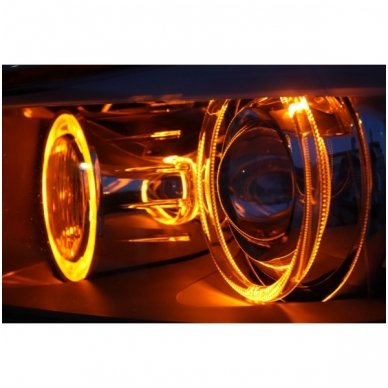 BMW Amber Eyes 12W led markeriai CAN BUS - 5 e39/ x5 e53/5 e60/ 5 touring e61/ 6 e63/ 6 e64/ 7 e65/ 7 e66/ x3 e83/ 1 e87 / 3