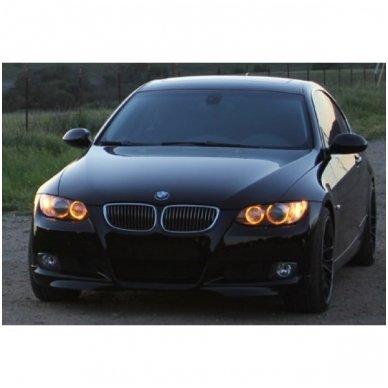 BMW Amber Eyes 12W led markeriai CAN BUS - 5 e39/ x5 e53/5 e60/ 5 touring e61/ 6 e63/ 6 e64/ 7 e65/ 7 e66/ x3 e83/ 1 e87 / 4