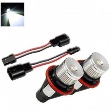 BMW Angel Eyes 12W led markeriai CAN BUS - 5 e39/ x5 e53/5 e60/ 5 touring e61/ 6 e63/ 6 e64/ 7 e65/ 7 e66/ x3 e83/ 1 e87 /