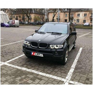 BMW Angel Eyes 25W led markeriai CAN BUS - 5 e39/ x5 e53/5 e60/ 5 touring e61/ 6 e63/ 6 e64/ 7 e65/ 7 e66/ x3 e83/ 1 e87 / 3
