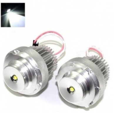 BMW Angel Eyes E60, E61 Facelift LCI H10W 28W CREE LED led markeriai CAN BUS