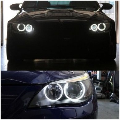BMW Angel Eyes led markeriai 28W CAN BUS - 3 e90/e91 LCI 12