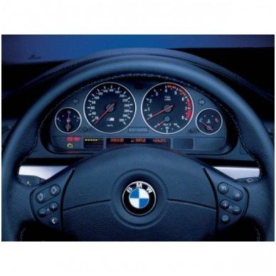 BMW CHROME e38, e39, e53 M stiliaus spidometro žiedai 6