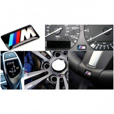 BMW M-tech 3D vairo, ratų, spidometro lipdukas