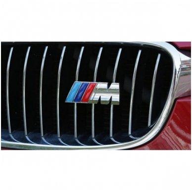 BMW M-tech grotelių emblema 3