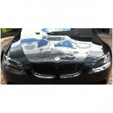 BMW M-Tech grotelių lipdukas ilgis 25cm, plotis 0,7cm 7