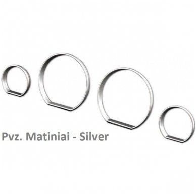 BMW MATINIAI 3 e46 M stiliaus spidometro žiedai 2